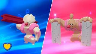 Timburr  - (Pokémon) - HOW TO Evolve Gurdurr into Conkeldurr in Pokemon Sword and Shield
