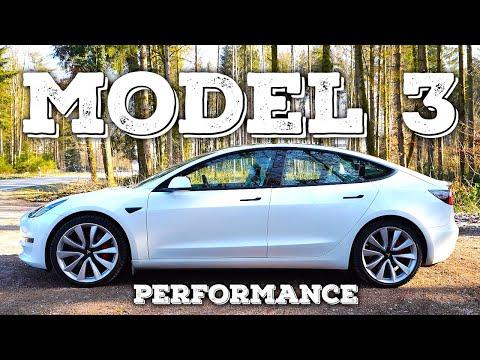 New Tesla Model 3 Performance Facelift 2021 Test Drive POV