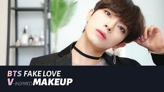 (Sub) 뷔(방탄소년단) 메이크업 FAKE LOVE 'BTS V' Inspired MAKEUP  | Joseph 죠셉