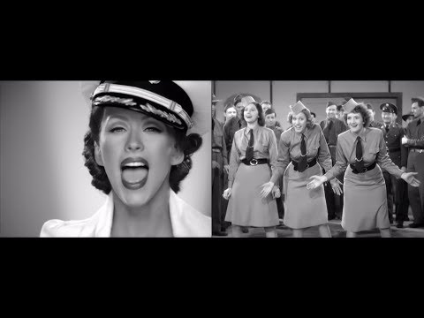 Christina Aguilera + The Andrews Sisters : Boogie Woogie Candyman
