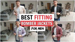 BEST FITTING BOMBER JACKETS FOR MEN 2020 (Zara, H&M, Asos, Bershka & More)
