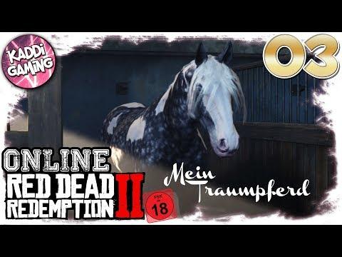 Red Dead Redemption Online BETA: Ich habe mein Traumpferd gefunden! #03   Kaddi Gaming 🌺