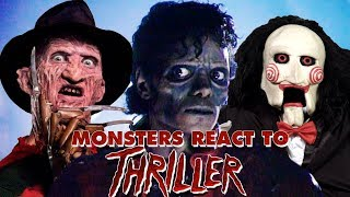 """Monsters React To Michael Jackson """"Thriller"""" - SONG RANTS!"""
