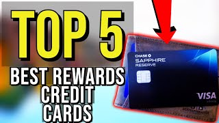 ✅ TOP 5: Best Rewards Credit Card 2020