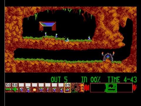 Lemmings (1991) (Krisalis Software)