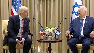 Trump Meets Israeli President Reuven Rivlin - Full Remarks