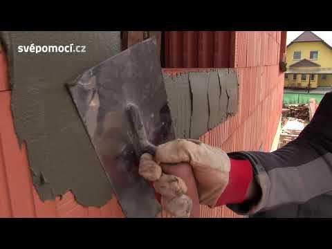 Příprava ostění před montáží oken