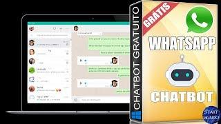 Chatbot Whatsapp gratuito (Funções extras Start chatbot )