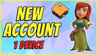 UPDATED: How to make a SECOND clash of clans account on ONE DEVICE 2021   2 accounts 1 device!