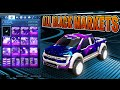 Rocket League Ford F150 With All Black Market Decals (In Depth Car Showcase)