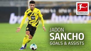 Jadon Sancho – All Goals and Assists 2020/21 so far