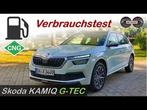 2020 Skoda KAMIQ G-TEC - Was verbraucht der Erdgas Skoda KAMIQ | Verbrauchsfahrt - Test - Review