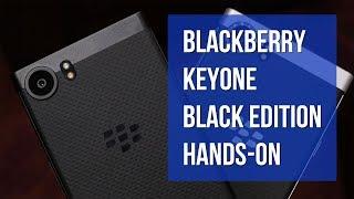 BlackBerry KEYone Black Edition hands-on
