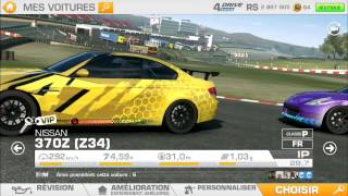 Real Racing 3 - Mon garage tuning complet.