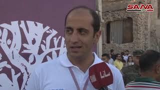 """""""ع ورق التوت"""" مشروع لإعادة تأهيل ساحة الحطب في حلب القديمة-فيديو"""