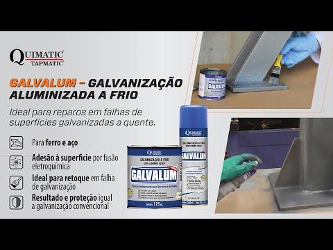GALVALUM – Galvanização Aluminizada a Frio