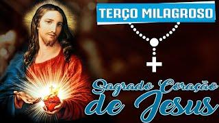 [TERÇO MILAGROSO DO SAGRADO CORAÇÃO DE JESUS]