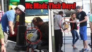 Buying Homeless People Their Favorite Meals