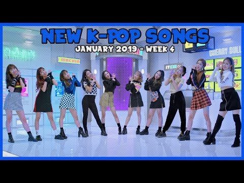 NEW K-POP SONGS I JANUARY 2019 - WEEK 4