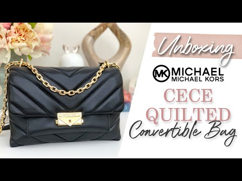 [UNBOXING] MICHAEL KORS CECE MEDIUM QUILTED LEATHER BAG | SPELL STEFF
