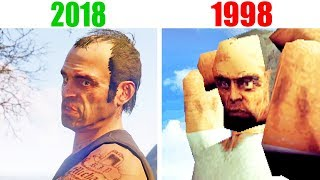 КАК ВЫГЛЯДЕЛА GTA 5 В 1998 ГОДУ ???