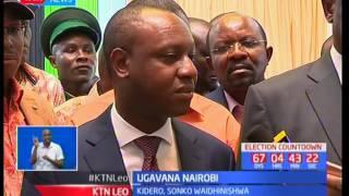 Mgombea ugavana Mike Sonko apanga kudunisha utendakazi wa gavana Evans Kidero