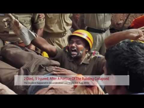 Building Collapsed In Secunderabad – Top Headlines of this hour