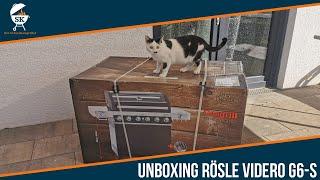 Unboxing und Aufbau RÖSLE Videro G6-S (Modell 2020) #144