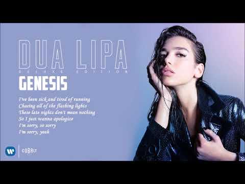 Dua Lipa - Genesis - Official Audio Release