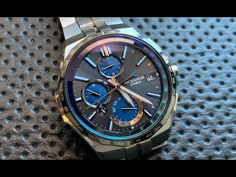 Snick Preview: The Casio Oceanus OCW-S5000C, an $1800 Casio