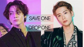 [KPOP GAME] SAVE ONE X DROP ONE   IDOL VER.