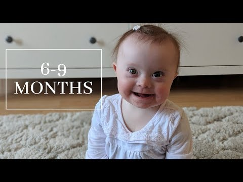 Veure vídeo6-9 month old baby with Down Syndrome