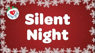 Silent Night with Lyrics | Christmas Carol  IMAGES, GIF, ANIMATED GIF, WALLPAPER, STICKER FOR WHATSAPP & FACEBOOK