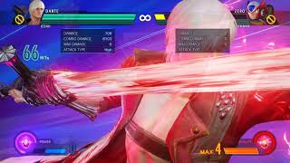 Dante practical high damage combos from stinger and helmbreaker (MVCI)