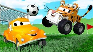 Autogaráž pro děti - Z Marleyho je tygr - Tomova Autolakovna ve Městě Aut