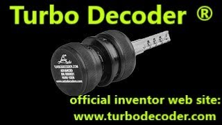 TURBO DECODER HU66 2 gen  open PANAMERA demo
