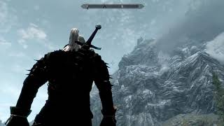Skyrim - Legendary Оружия Ведьмак #6