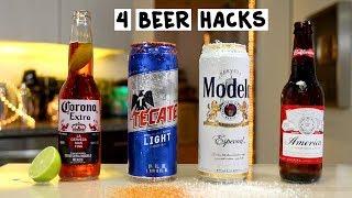 Four Beer Hacks