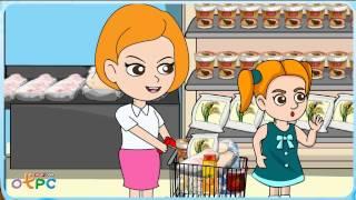 สื่อการเรียนการสอน At the suppermarket ป.2 ภาษาอังกฤษ