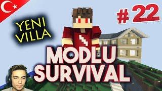 Minecraft Modlu Survival - Bölüm 22 - Yeni VİLLA !