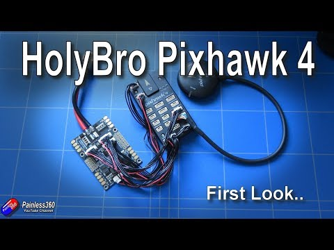 first-look-holybro-latest-pixhawk-4-flight-controller