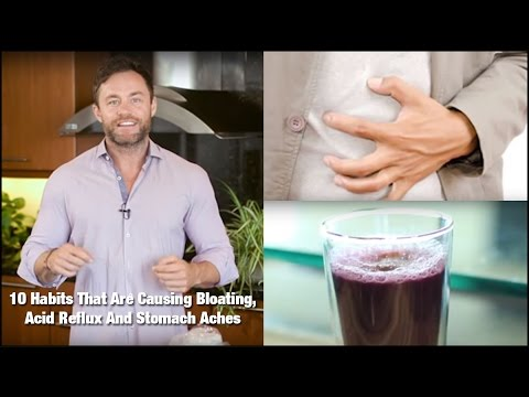 Video Relief of Stomach Pain with Red Cabbage Juice