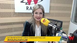 En La W con Vicke Dávila: El informe del fiscal Ad Hoc en el caso Odebrech