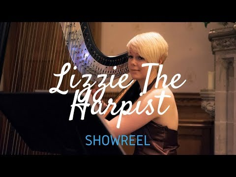 Lizzie The Harpist Video