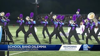 School band dilemma: Marching band won't take field