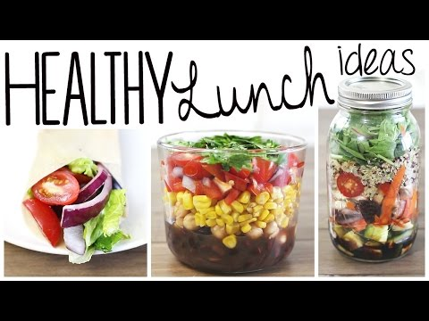 Video 3 Healthy & Easy Lunch Recipes (Vegan & Gluten Free!)