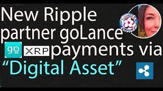 New Ripple Partner goLance has digital asset added for payments, XRP by Hodor, IBM Stellar Changes