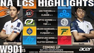NA LCS Highlights ALL GAMES Week 9 Day 1 Full Day Highlights Summer 2018 W9D1
