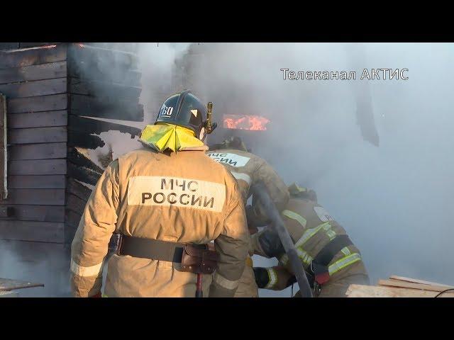 Женщину-инвалида спасли из пожара