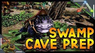 Beelzebufo Tame & Swamp Cave Prep   Ark: Survival Evolved   Season 1 Episode 64